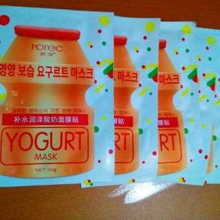 Rorec Yogurt Sheet mask