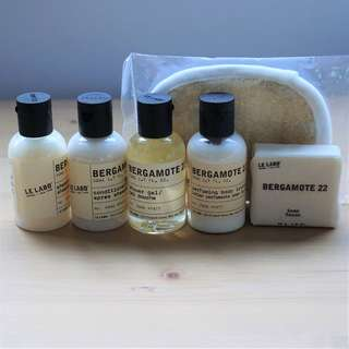 Le Labo Bergamote 22 - luxury travel set