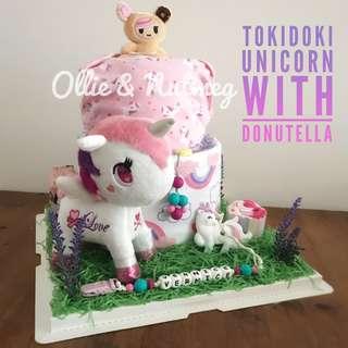 Customised Baby Shower Diaper Cake Hamper
