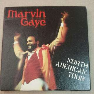 Music CD: Marvin Gaye–North American Tour