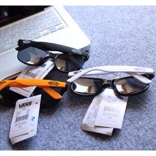 Vans橘邊墨鏡 sunglasses