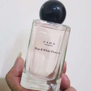 NEW Parfum ZARA Pear & White Flower ORI 160K
