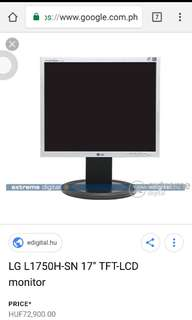 17 inches Monitor for sale