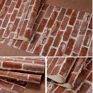 Photoshoot Brick Backdrop