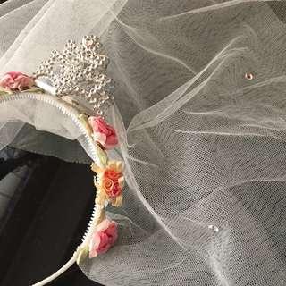 Bando Veil for bride to be