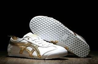 ASICS ONITSUKA TIGER MEXICO 66 DELUXE WHITE GOLD ORIGINAL