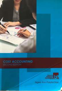 Cost Accounting Second Edition