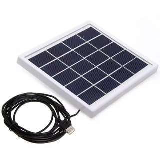 Mini Solar Panel DIY with USB Output for phone Charger Home Lighting