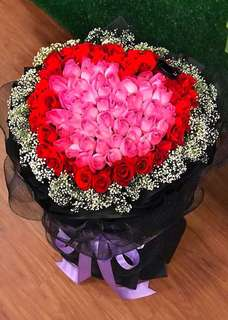 99 rose flower Bouquet