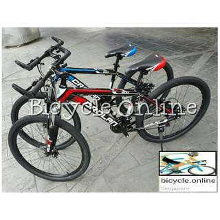 "24"" CROLAN MTB / Mountain Bikes ✩ 21 Speeds, front suspension, Disc brakes ✩ Brand New Bicycles"