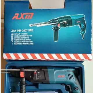 [Free Reg Mail] Rotary Hammer Drill 26mm 800Watt / AXM 2607 / Powerful
