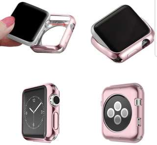 Instock #JANSIN Apple Iwatch Case 38mm - Rose gold