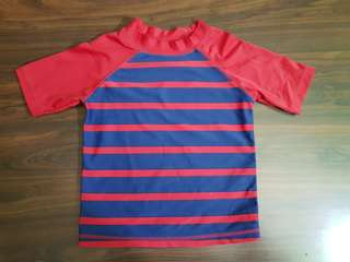 Old Navy Rash Guard Blue/Red