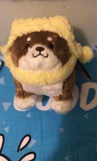 中細size-冷帽麻糬忠犬公仔(2隻)