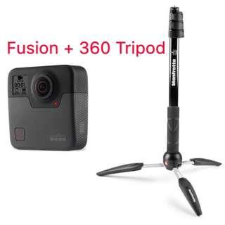 Bundle Fusion + 360 Tripod