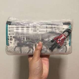 (One Week Sales) Horse Patterned Black Long Wallet