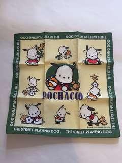 Sanrio vintage PC狗 Pochacco 手巾 1993