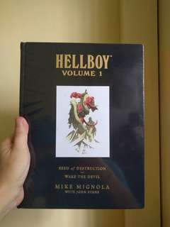 HELLBOY - Volume 1, seed of destruction & wake the devil