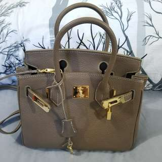 BN Birkin Style Italy Handmade Teddy Blake Authentic Leather Bag not Hermes Chanel Louis Vuitton Prada Gucci