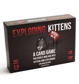 Exploding Kittens Black