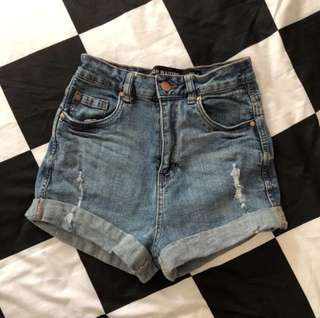 ⚡️FLASH SALE⚡️ High Waisted Denim Shorts