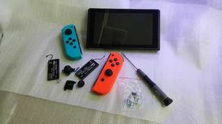 (Repair Services) Nintendo Switch Console & Joy-Controllers
