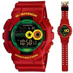 G Shock GD100 Rasta