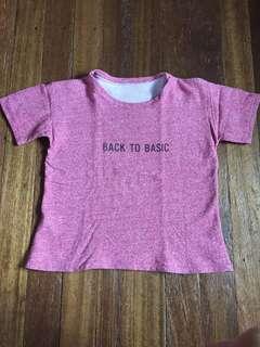 Back to Basic shirt