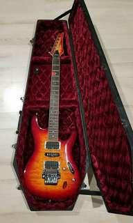 IBANEZ RED VIKING S470 GUITAR