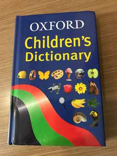 Oxford children's dictionary