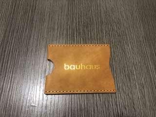 Bauhaus啡色卡片套