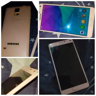 Note 4 Baby Pink 32gb (Single Sim)