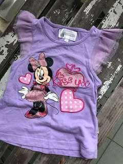 Authentic Disney Minnie Mouse t shirt