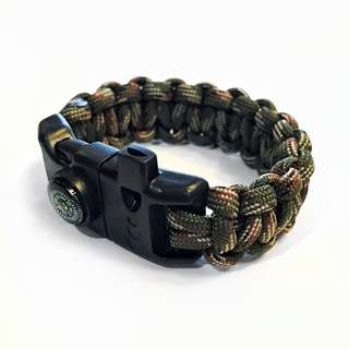 Paracord with Fire-starter Buckle