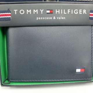 全新美國入口 TOMMY HILFIGER Wallet 銀包 (真皮) 禮物 專門店賣$590 深藍色