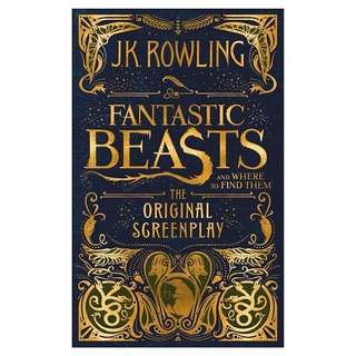 Fantastic Beasts and Where To Find Them: The Original Screenplay (unopened, 2 copies)