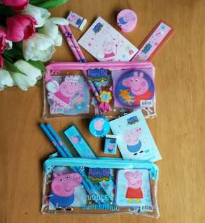 Stationery Set - peppa pig