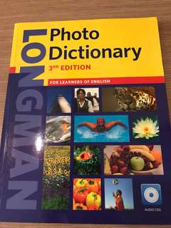 LongMan photo dictionary with 3 audio cds - 3rd edition