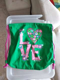 New girl scouts bag
