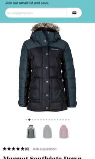 Winter jacket :Marmot South Gate jacket woman