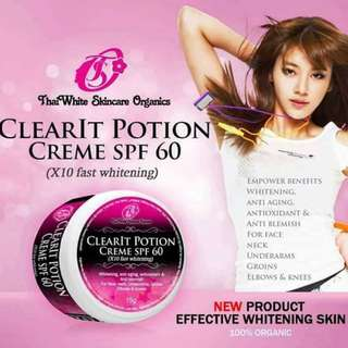 CLEAR IT POTION CREAM SPF 60