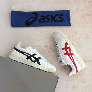 出口日本,不屬本港專櫃正品!TBF 711 三井壽 Asics 全皮低幫男子籃球鞋休閒鞋板鞋。