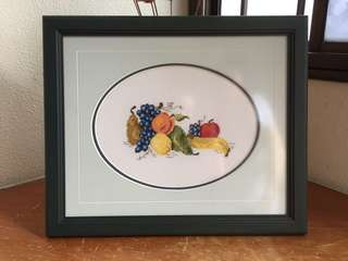 Cross Stitch Fruits