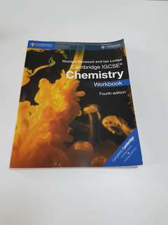 Cambridge IGCSE Chemistry Workbook