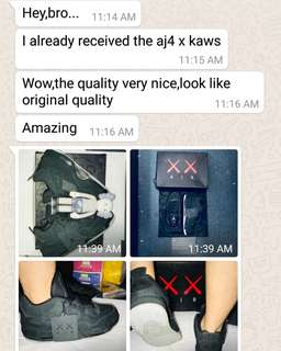 Feedback from customer