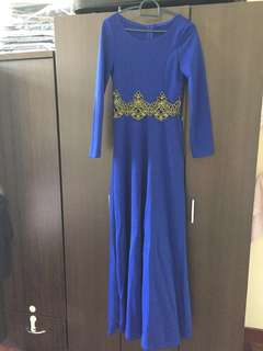 Long Dress Free Size