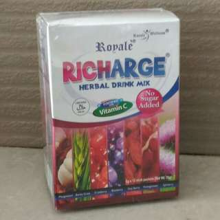 Royale Richarge Herbal Drink Mix