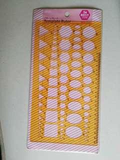 Daiso template ruler