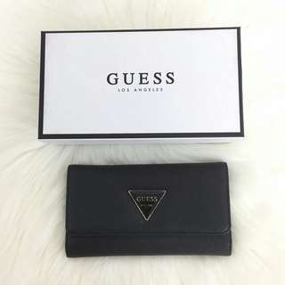 AUTHENTIC GUESS 3 FOLD LONG WALLET