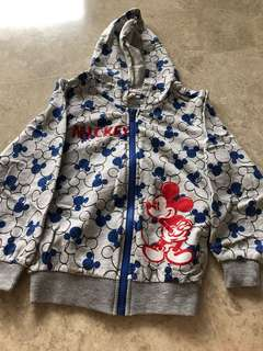 Mickey Mouse Hoodie Jacket